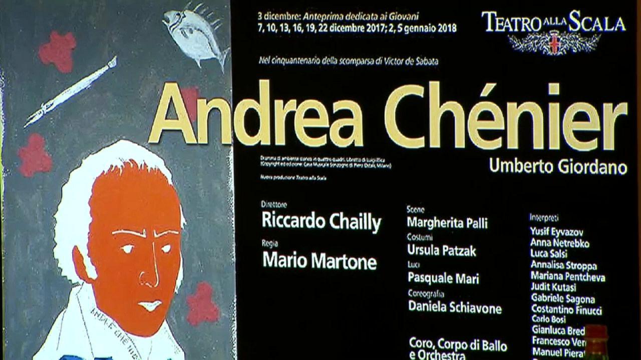 """""""Andrea Chénier"""" torna alla Scala, 32 anni dopo"""