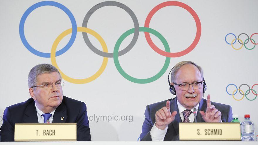 Der Vorsitz des Internationalen Olympischen Komitees in Lausanne