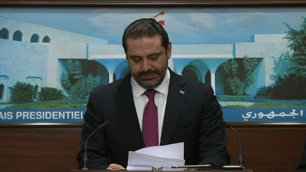 Hariri withdraws resignation in Lebanon