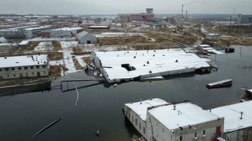 Berezniki, la ciudad que está desapareciendo tragada por la tierra
