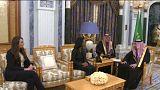 ماذا تفعل كونداليزا رايس في السعودية؟