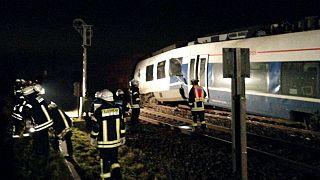 Choque de trenes sin víctimas en Alemania