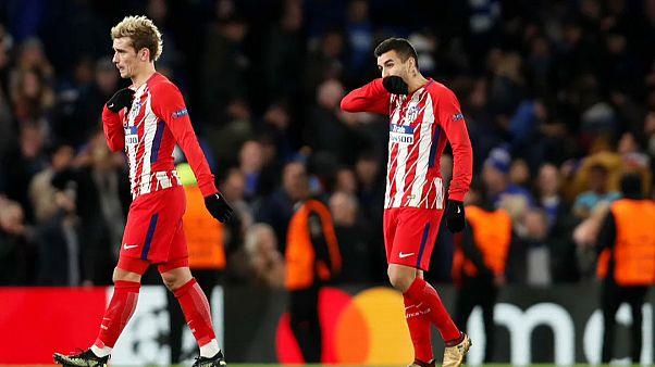 Ligue des champions : l'Atlético éliminé