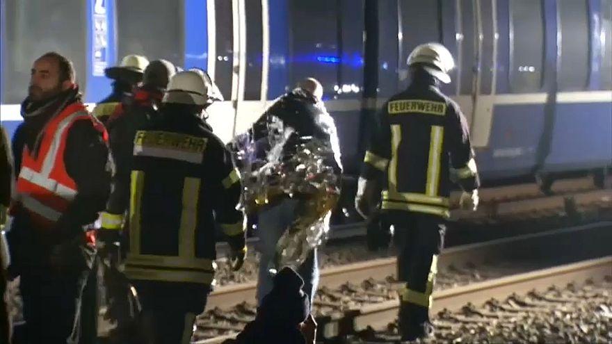 Colisão de dois comboios na Alemanha: 47 feridos