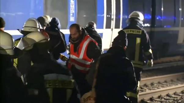 Allemagne : Près d'une cinquantaine de blessés dans un accident de train