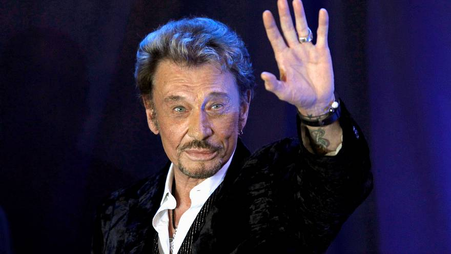 Addio a Johnny Hallyday, icona rock