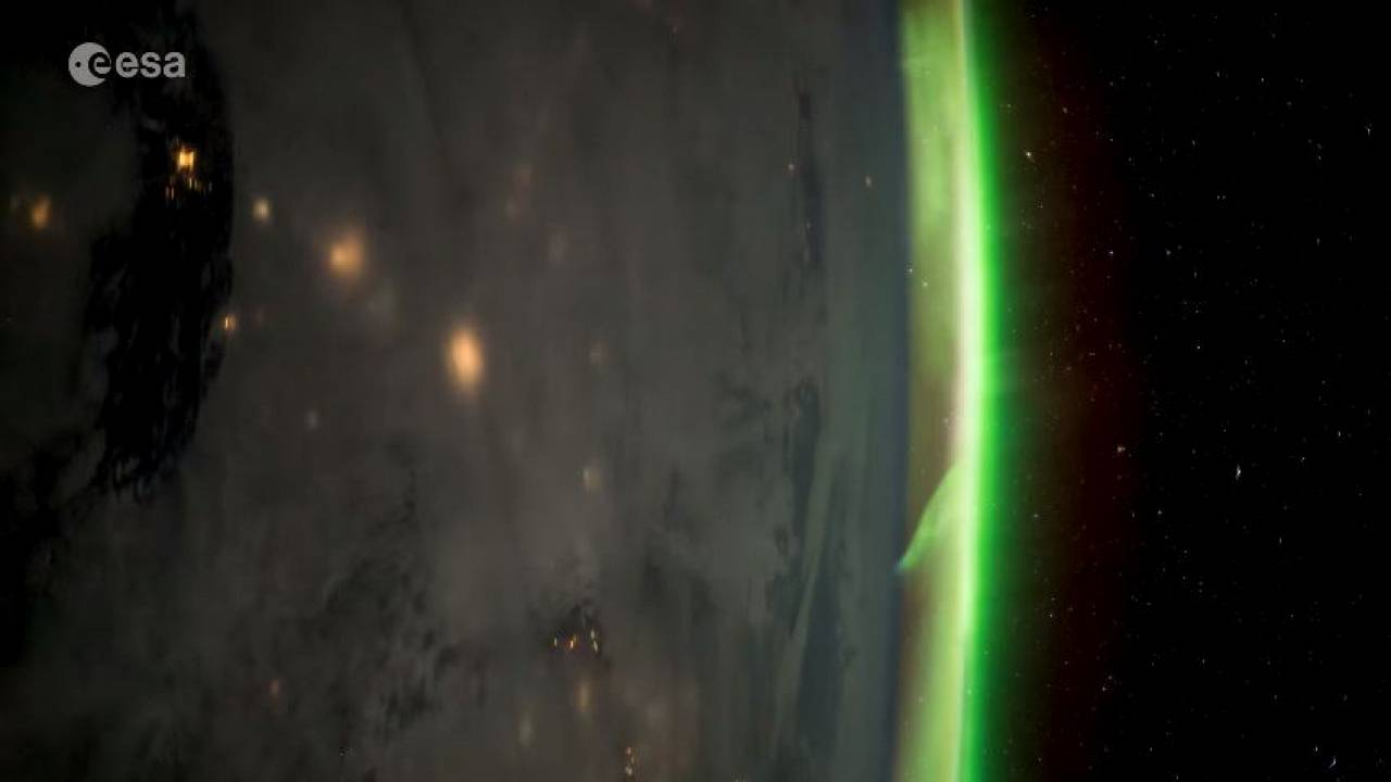 Watch: Astronaut's time-lapse shows stunning auroras grip earth