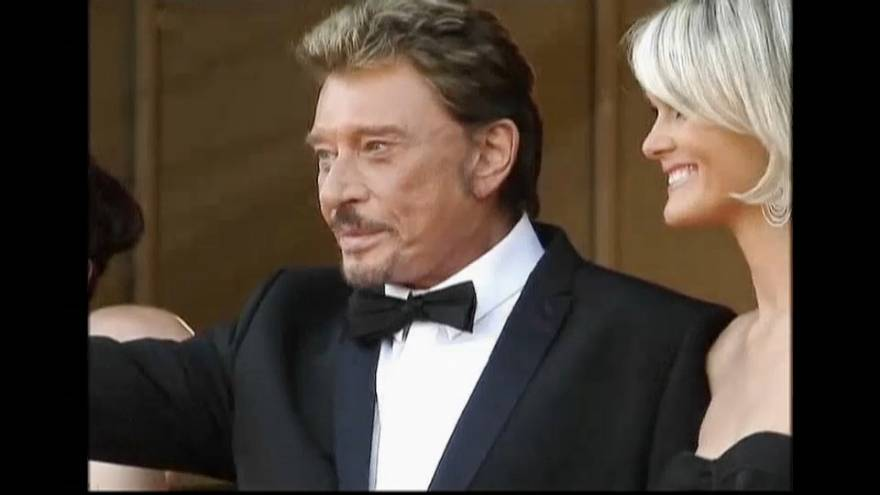 France mourns the death of original rocker Johnny Hallyday