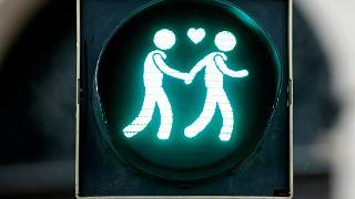 Un semaforo gay-friendly a Vienna