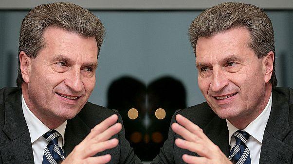 Oettinger: EU-Kommission hofft auf handlungsfähige und proeuropäische Regierung in Berlin