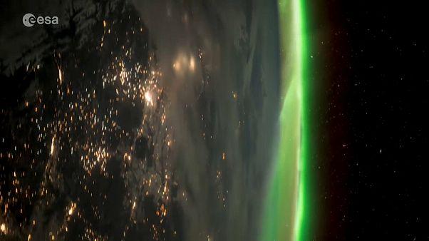 Πολικό Σέλας: Ένα εντυπωσιακό βίντεο από το διάστημα!