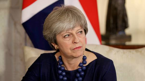 Britain's Prime Minister Theresa May meets Spain's Prime Minister Mariano R