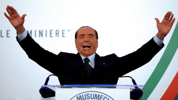 A look at Silvio Berlusconi's political comeback