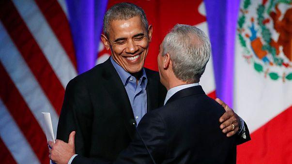 Obama e Hidalgo juntos pelo clima