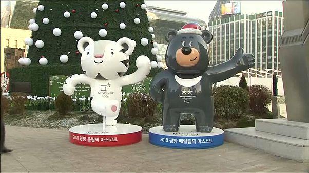 Le mascottes di PyeongChang