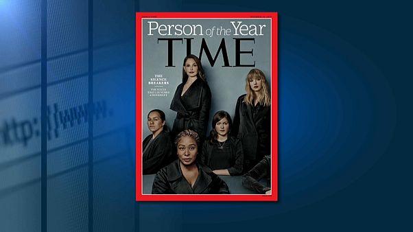 Revista Time escolhe Movimento #MeToo como personalidade do ano