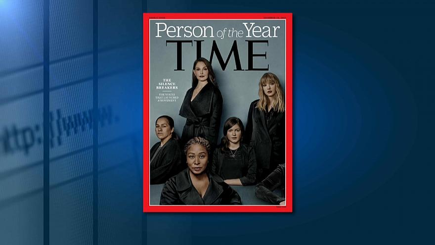 Revista Time escolhe Movimento #MeToo como personalidade do ano