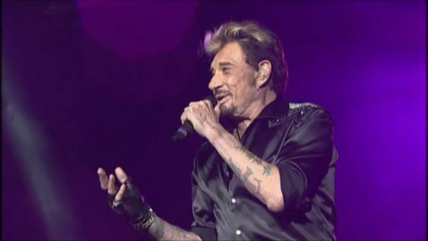 Johnny Hallyday, camaleónica leyenda del rock francés