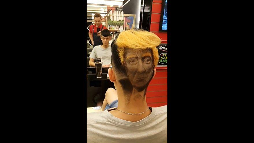 С Трампом на голове