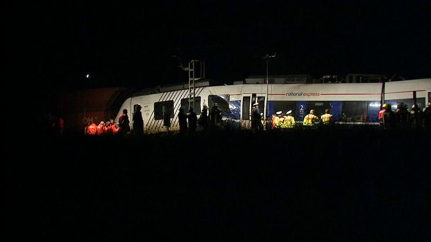 50 Verletzte bei Zugkollision