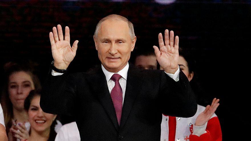 Poutine candidat à un quatrième mandat présidentiel