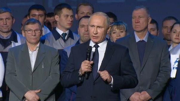 Putin se presentará a la reelección en las presidenciales del año que viene