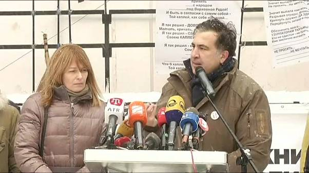 Ucraina: scontri fra polizia e sostenitori di Saakashvili