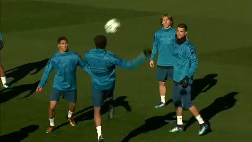 Προπόνηση Ρεάλ Μαδρίτης πριν τον αγώνα με την Ντόρτμουντ