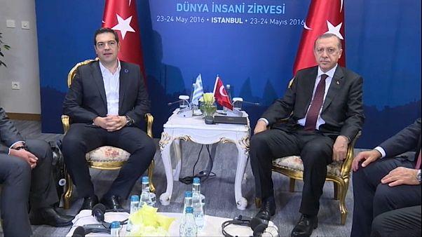 President Erdogan last visited Greece as prime minister in 2010.