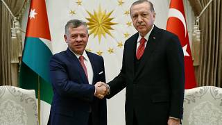 Συνάντηση Ταγίπ Ερντογάν- Βασιλιά Ιορδανίας Αμπντάλα στην Άγκυρα