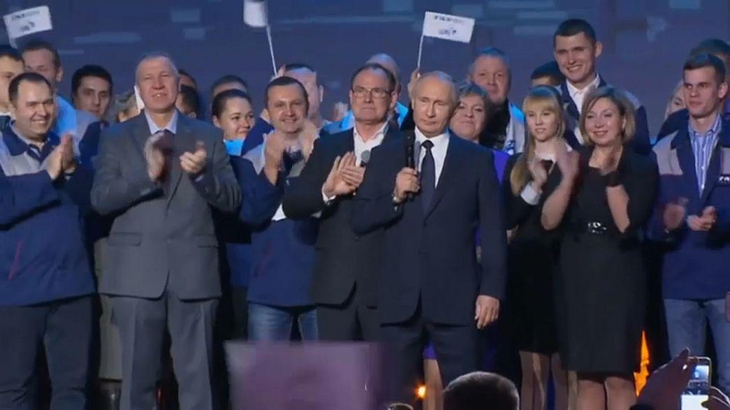 Putin dördüncü defa başkan adayı
