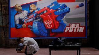 Szuperputyin - kiállítás az orosz elnökről Moszkvában