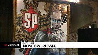 Путин - супермен, Дед Мороз и богатырь