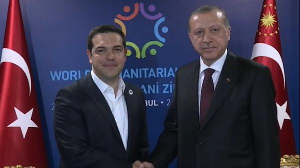 Visita de Erdogan a Grecia entre fuertes medidas de seguridad