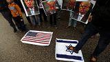 Палестинцы протестуют против переноса посольства США
