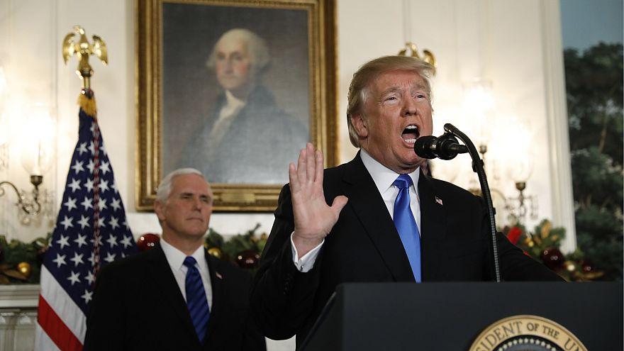 """Donald Trump : """"Il est l'heure de reconnaître Jérusalem comme la capitale d'Israël"""""""