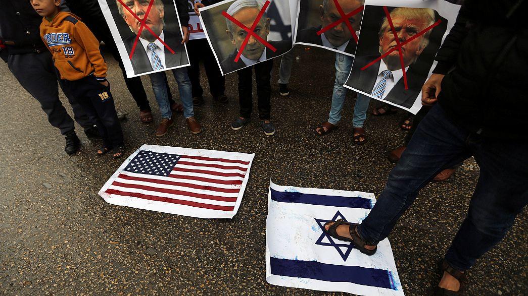 Jerusalem-Status: Protest in Gaza