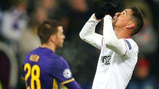 Liga de Campeones: El Sevilla cumple en Máribor