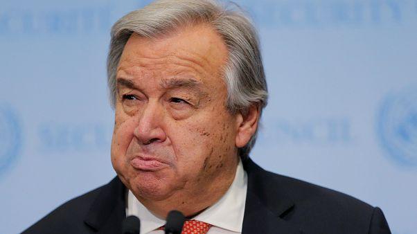 Ο Γενικός Γραμματέας του ΟΗΕ, Αντόνι Γκουτέρες