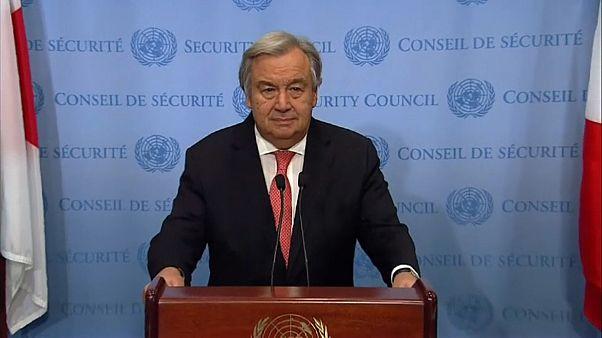 UN's Antonio Guterres leads criticisim of Trump's Jerusalem move