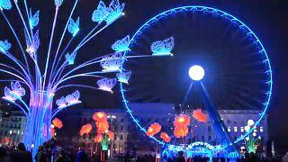 Λυών: Η φαντασμαγορική «Γιορτή των Φώτων»