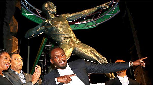 جامايكا تكرم ابنها الأسرع في العالم