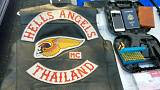 Thailandia: motociclisti Hells Angels in manette
