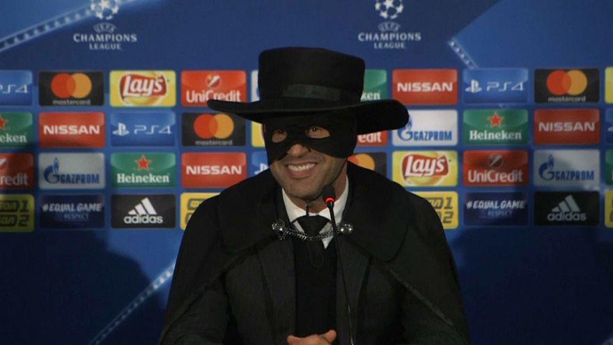 Shakhtar Donetsk boss celebrates win over Man City by going full Zorro