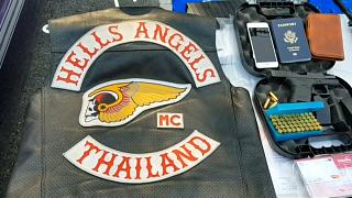 Police arrest four members of Hells Angles Thailand