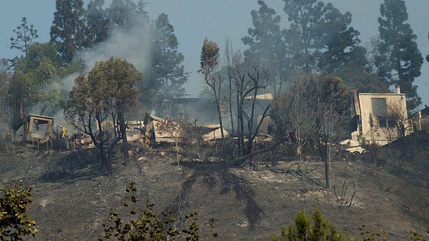 Chamas devastadoras na Califórnia
