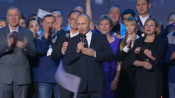 Путин-кандидат. Реакция россиян.