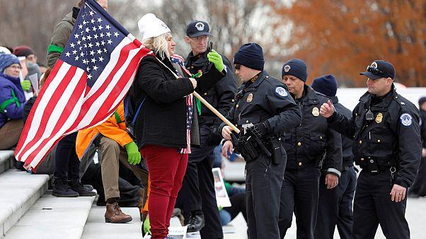 Аресты у Капитолия