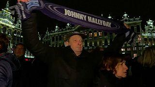 La Belgique pleure Jonnhy Hallyday