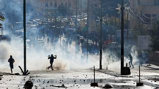 Забастовка и акции протеста на Западном берегу реки Иордан